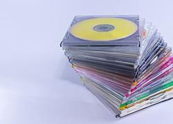 パソコンソフトの入ったCD-ROM
